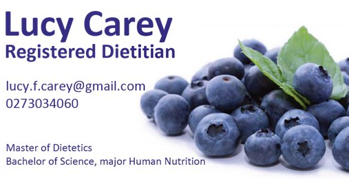 Lucy Carey - Registered Dietitian